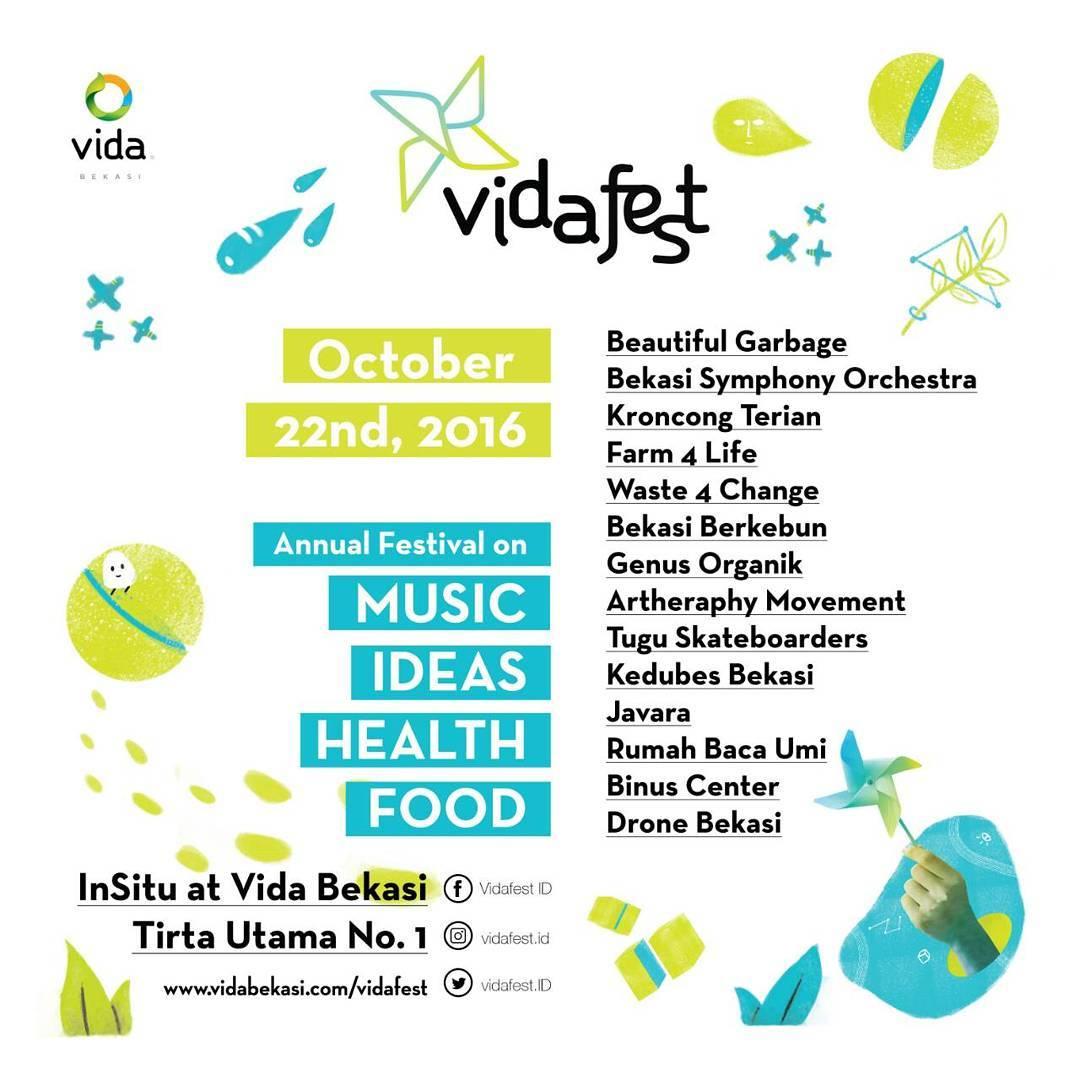 Vida Fest Festival Asik Di Bekasi Fabulous Mommy
