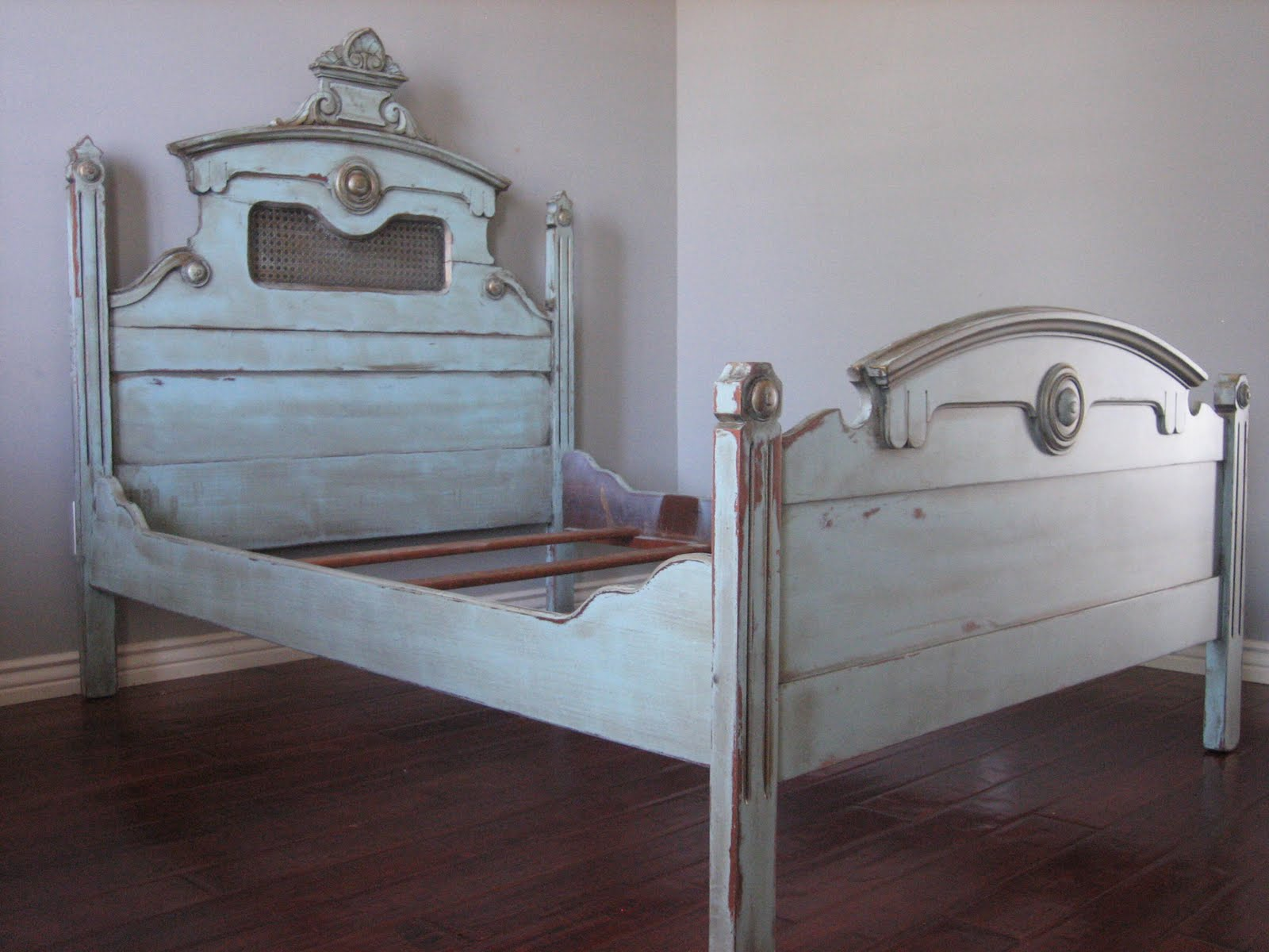 european paint finishes whimsical bed