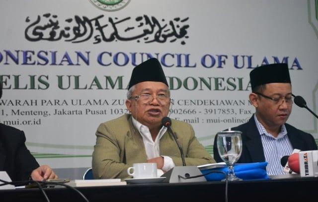 MUI: Pemerintah Nekat, Umat Islam Bergerak