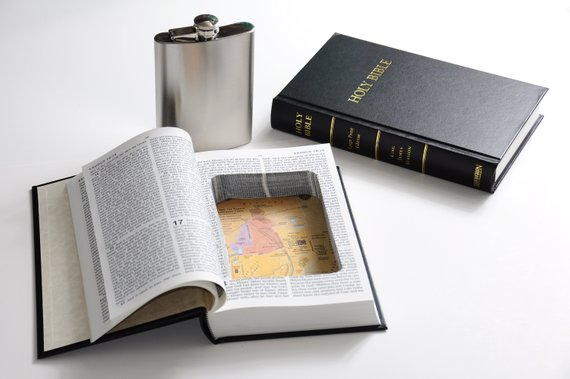 Funny Bible Flask Product