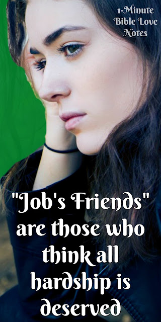 Job's Friends Missed the Point - Job 42:7