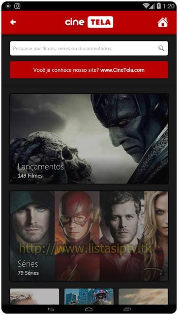 CineTela - Apk - Assista filmes e séries em HD no Android