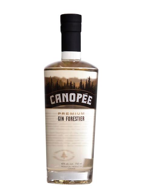 9. Le Gin forestier Canopée de la distillerie Mariana