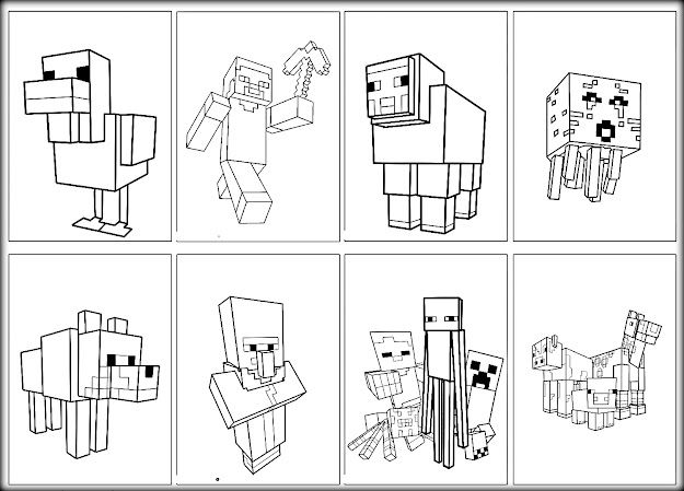 minecraft mutant creeper coloring pages best minecraft page coloring sheets library coloring