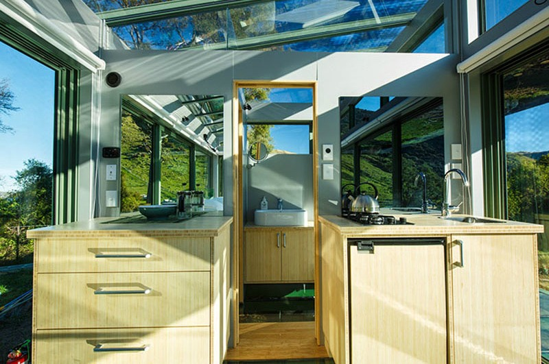 Tiny House Town Pure Pod S Glass Cabins