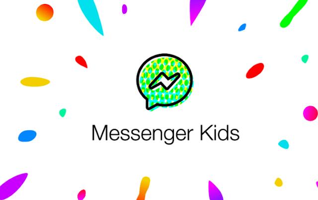 la aplicación de mensajería instantánea pensada en niños, facebook messenger kids