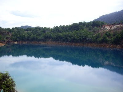 Tasik Biru Bukit Ibam Looks Bluer In This Perspective
