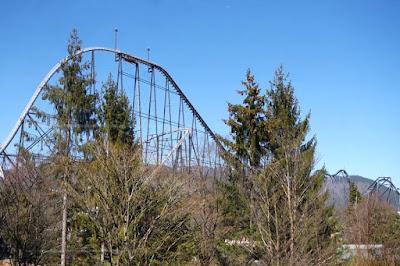 Fuji Q Highland Fujiyama Roller Coaster Japan
