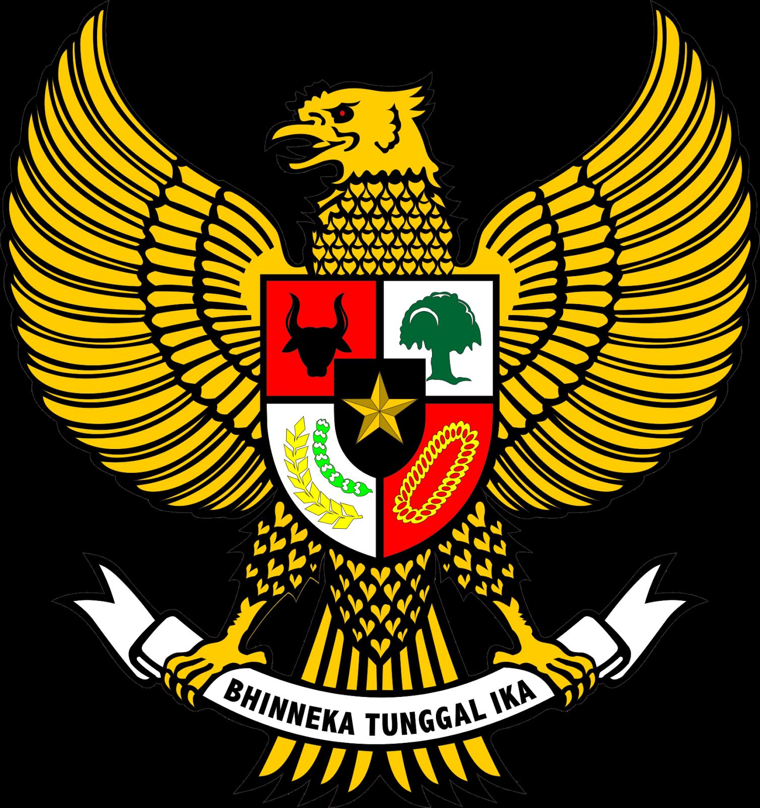 Lambang Negara Indonesia Bhinneka Tunggal Ika Jpg Png Corel Dan Hitam Putih Kutokarin