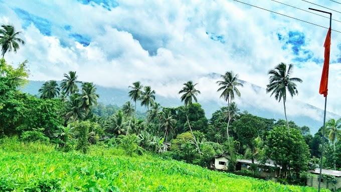 Ratnapura to Colombo road Rainey day