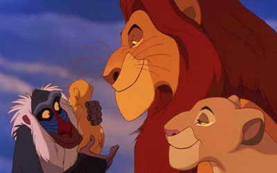 "The gospel according to ""The Lion King."""