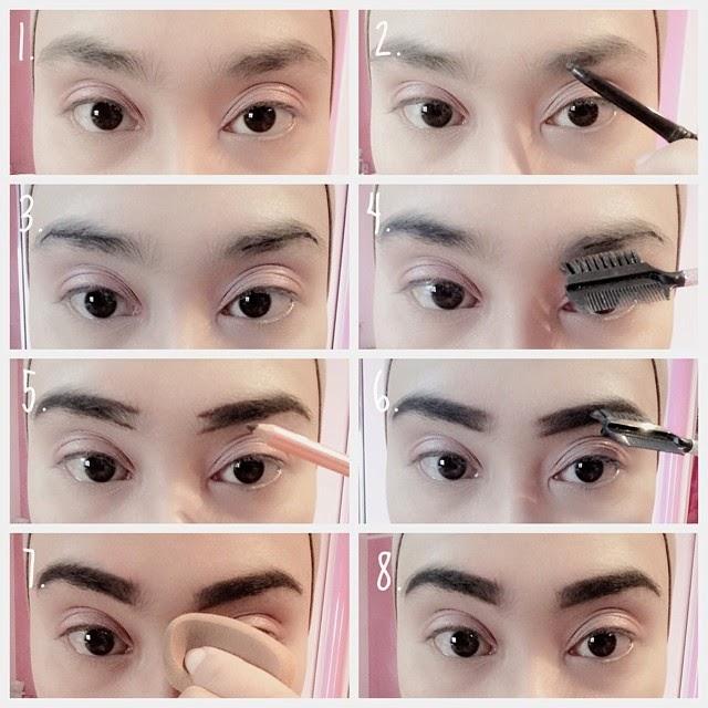 Cara mudah membuat alis untuk pemula // eyebrow tutorial | 2wins.