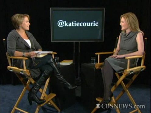 Katie couric and pantyhose