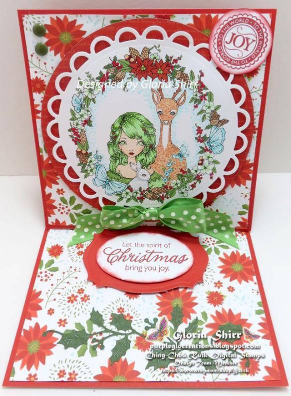 Featured Card for Lil Patch Of Crafty Friends Challenge Blog