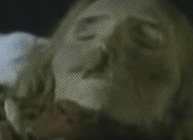Foto tomada a la momia en 1969