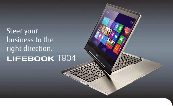 Review & Price Fujitsu Lifebook T904 , Ultrabook with Rotating Screen 13 Inches High Resolution Tech IGZO