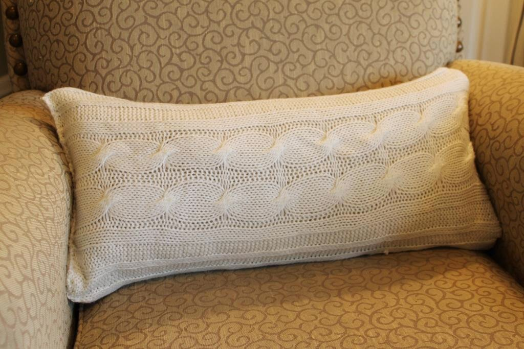 Miss Kopy Kat Make A Sweater Pillow In 30 Minutes