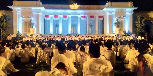 Ketum MUI puji Jokowi Gelar Zikir bersama di halaman Istana