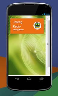 Jateng radio aplikasi android