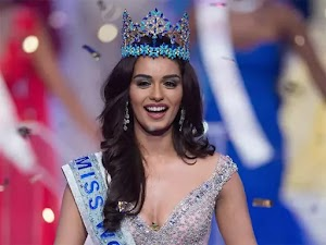 Miss World 2017 is Manushi Chhillar