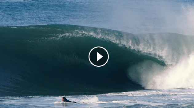 ONE OF THE HEAVIEST SURF SESSIONS IN 2018 - PORTUGAL