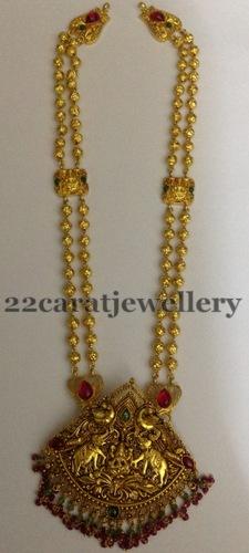 Antique Haram 41 Gms Jewellery Designs