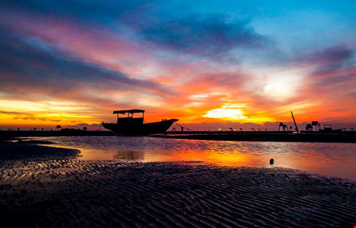 Chùm ảnh đẹp về bãi biển Đồng Châu Thái Bình Phần 1-9