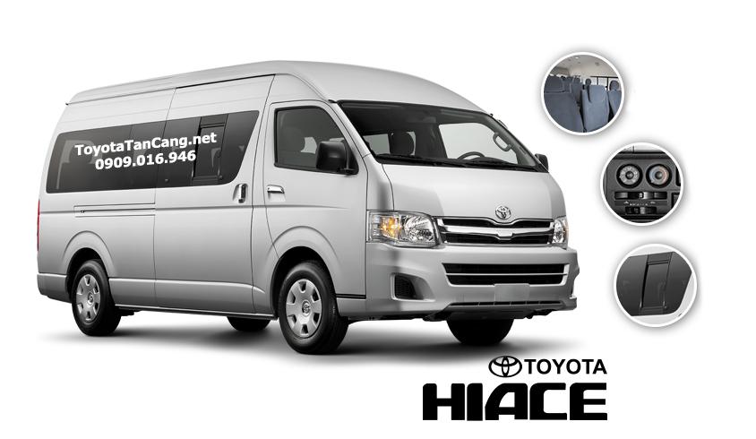 """toyota hiac 2015 toyota tan cang 8 - Đánh giá Toyota Hiace 2015 - """"Con át chủ bài"""" để kiếm tiền dễ hơn - Muaxegiatot.vn"""