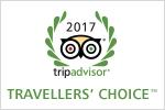 premio Travellers Choice 2017 Tripadvisor