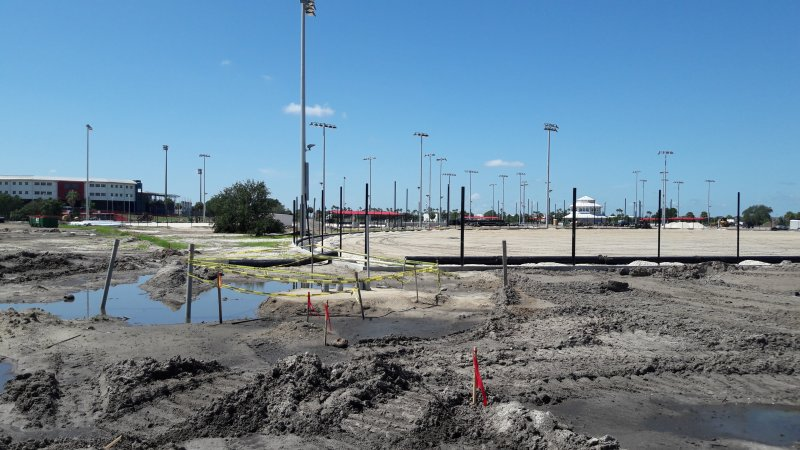 Space Coast Sports Complex Under Construction