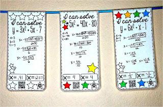 Quadratic Formula math pennant