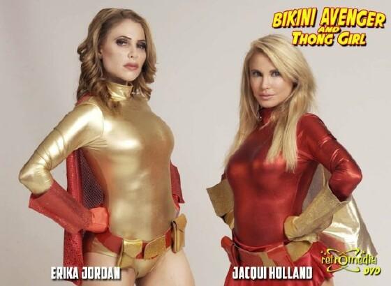 Bikini super heroes