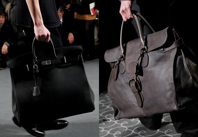 d0ea3baef1125 Aşağıdaki ikiliden benim oyum Hermes'e. Gucci ise çantayı daha bavulvari  yapmış. Bir günlük uzak iş seyahati için bile aslında ideal.