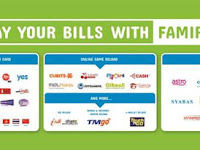 Newly Aggregator (FamilyMart) for TM Bill Collection via Epay