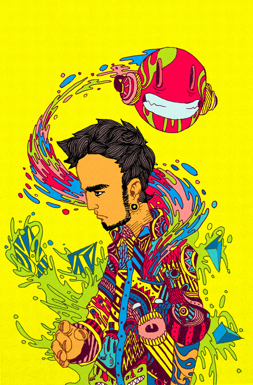 Raul Urias. Взрыв цвета. 9