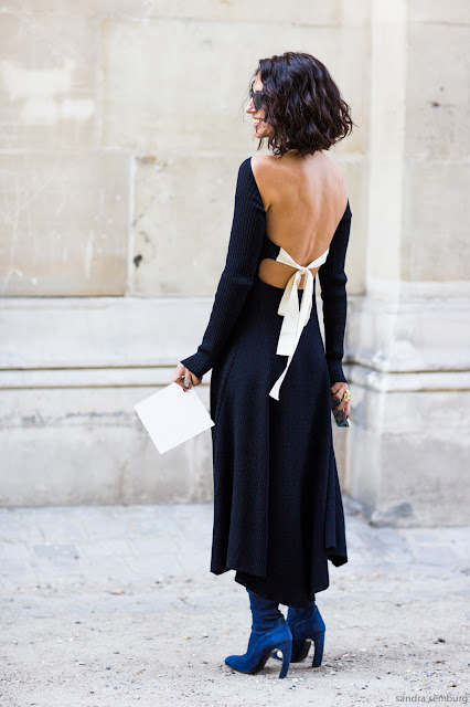 Yasmin Sewell backless dress Céline