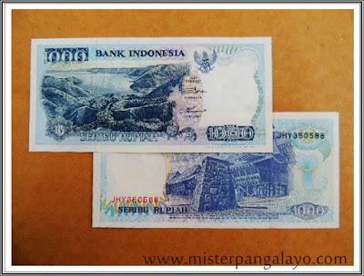 Uang kertas pecahan 1000 IDR, tahun 1992