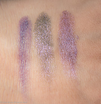 Nabla Cosmetics - Mermaid Collection - Nautilus, Selfish, Fuseaux