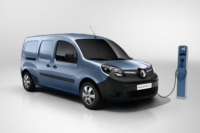 Nova Renault Kangoo: furgão elétrico com autonomia 50% maior