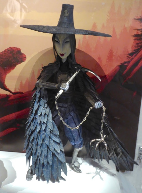 Kubo Two Strings Evil Sister puppet