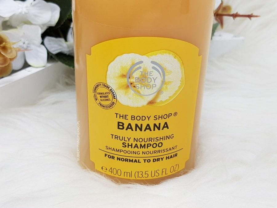 Bananowy szampon The Body Shop Banana opinie, skład, blog