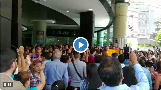 Vídeos del trancazo de este 23 de junio contra el régimen