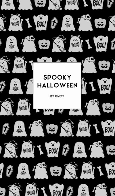 - Spooky Halloween. -