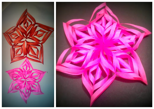Festive Decoration - Paper Stars