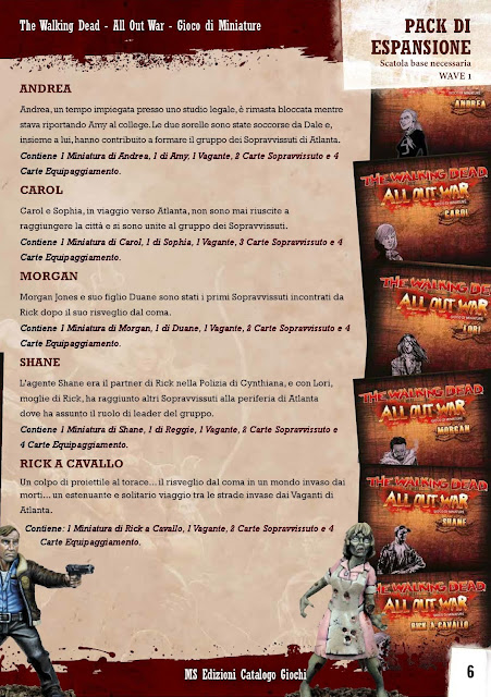 The Walking Dead: All Out War (catalogo 2017)