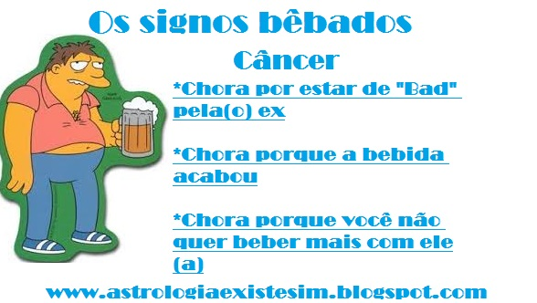 cancer bebado