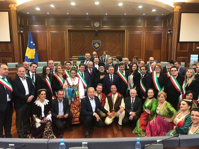 Casalvecchio di Puglia e le comunità arbreshe daune in Kosovo