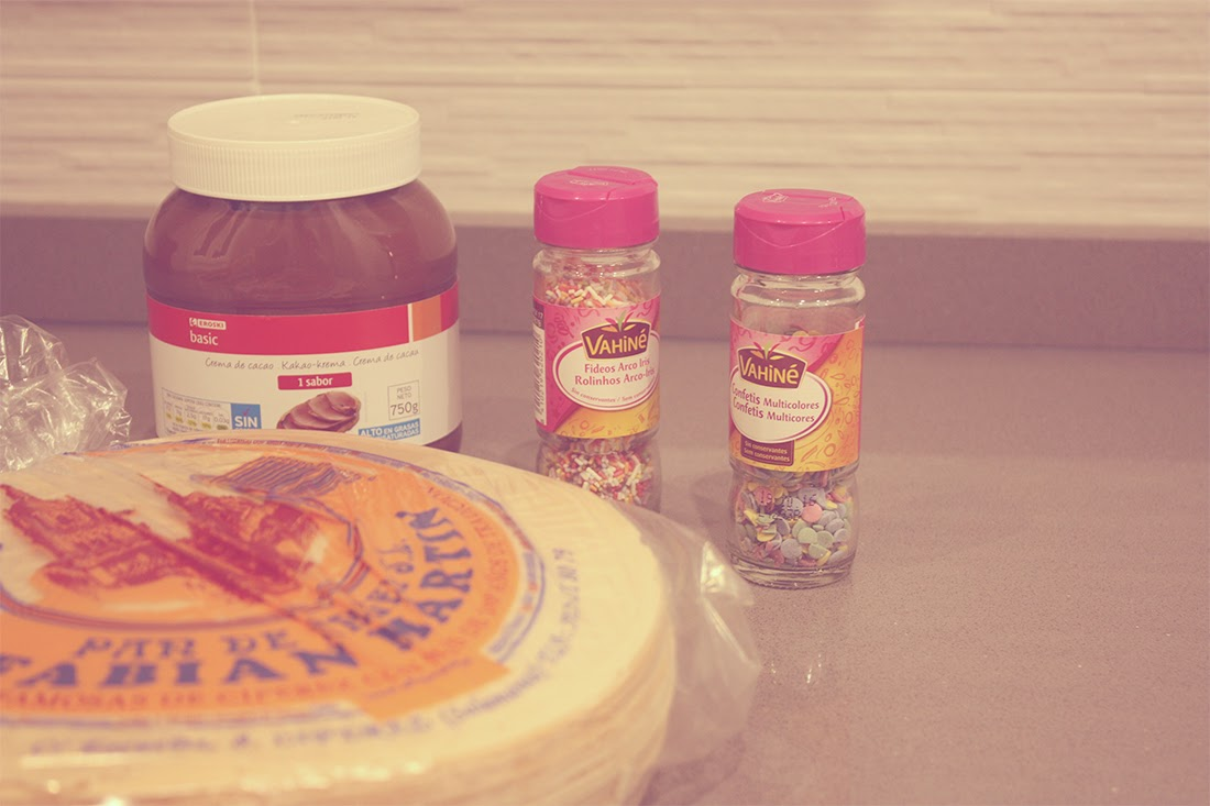 Ingredientes tarta de Huesitos Punto de Lu