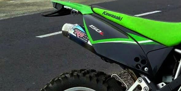 Kawasaki KLX 150 dan D-Tracker Harga Knalpot Racing Terbaru 2015
