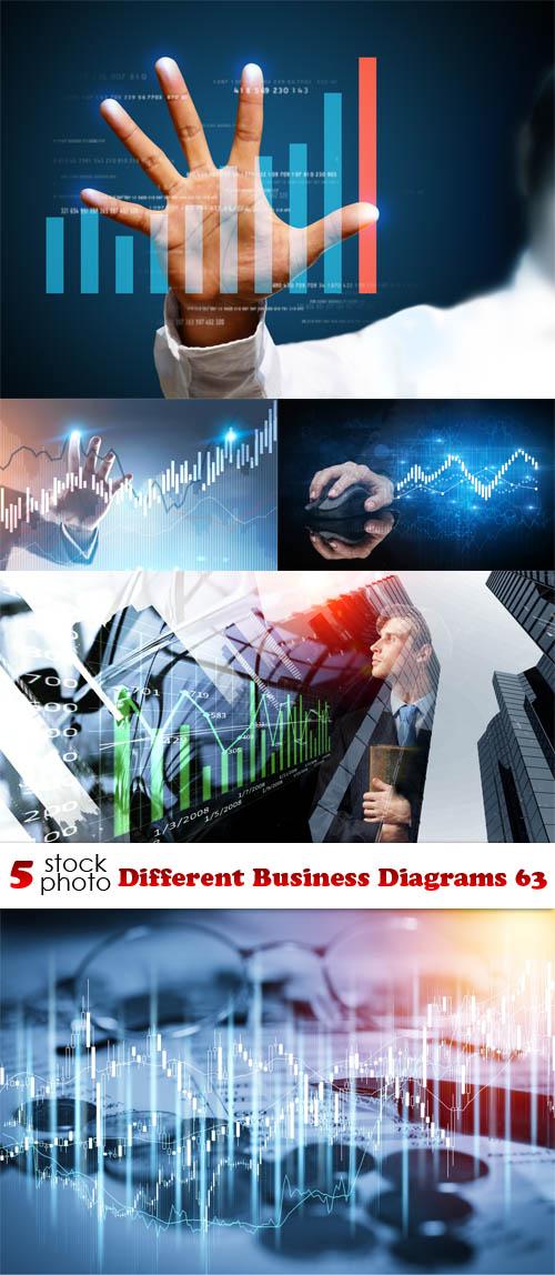 صور مختلفة لمخططات الأعمال التجارية جودة عالية